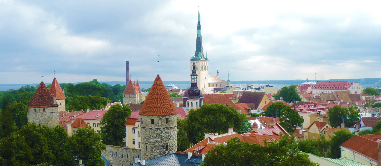 CAPA 1 - Tallinn, o berço da Estônia